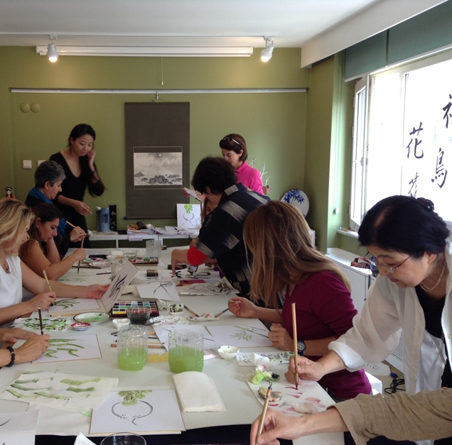 Sumi-e ve Shodo Workshop - Japon Sanat Merkezi